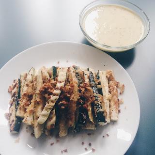 Homemade Garlic & Herb Mayo.