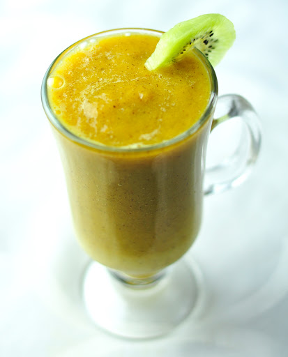 kiwi orange smoothie