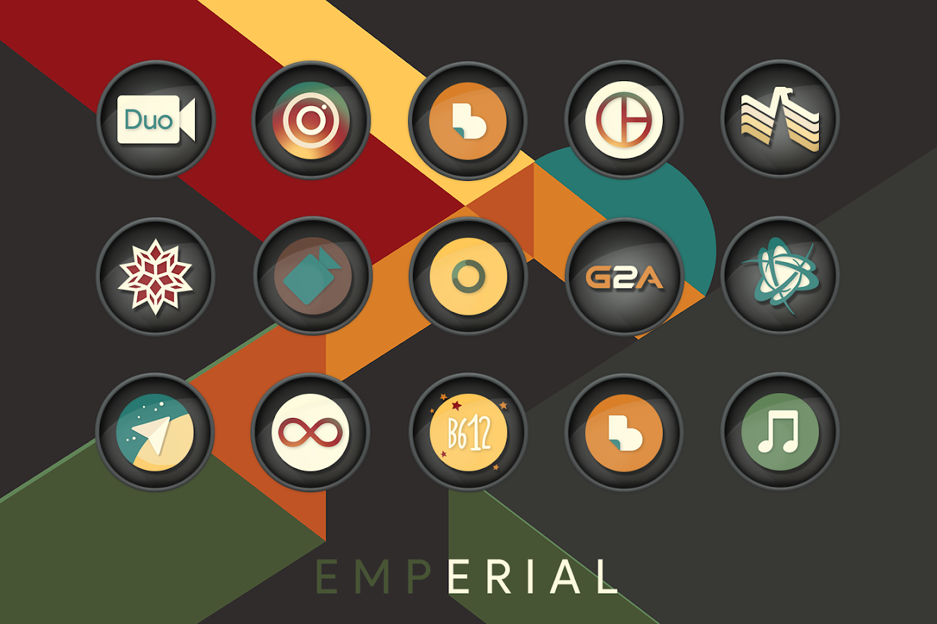 Emperial Icon Pack - 屏幕截图
