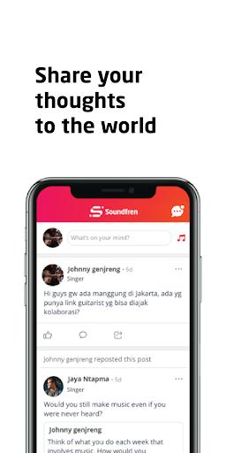 Soundfren - Music Professional Social Networking screenshot 4
