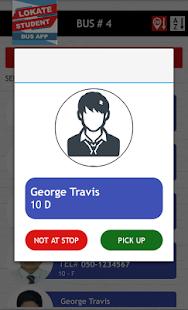 Bus App - náhled