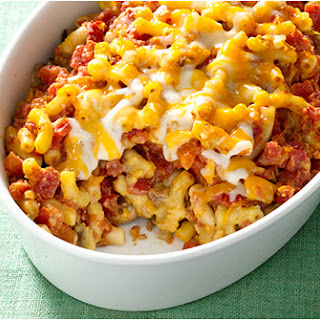 Zesty Tomato Mac and Cheese Casserole