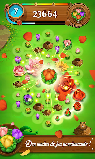 Blossom Blast Saga  captures d'écran 2
