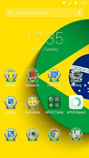 Soccer kingdom theme for APUS