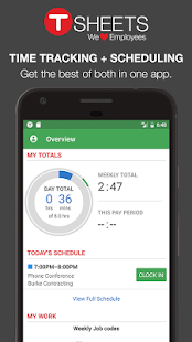 TSheets Time Tracker- screenshot thumbnail