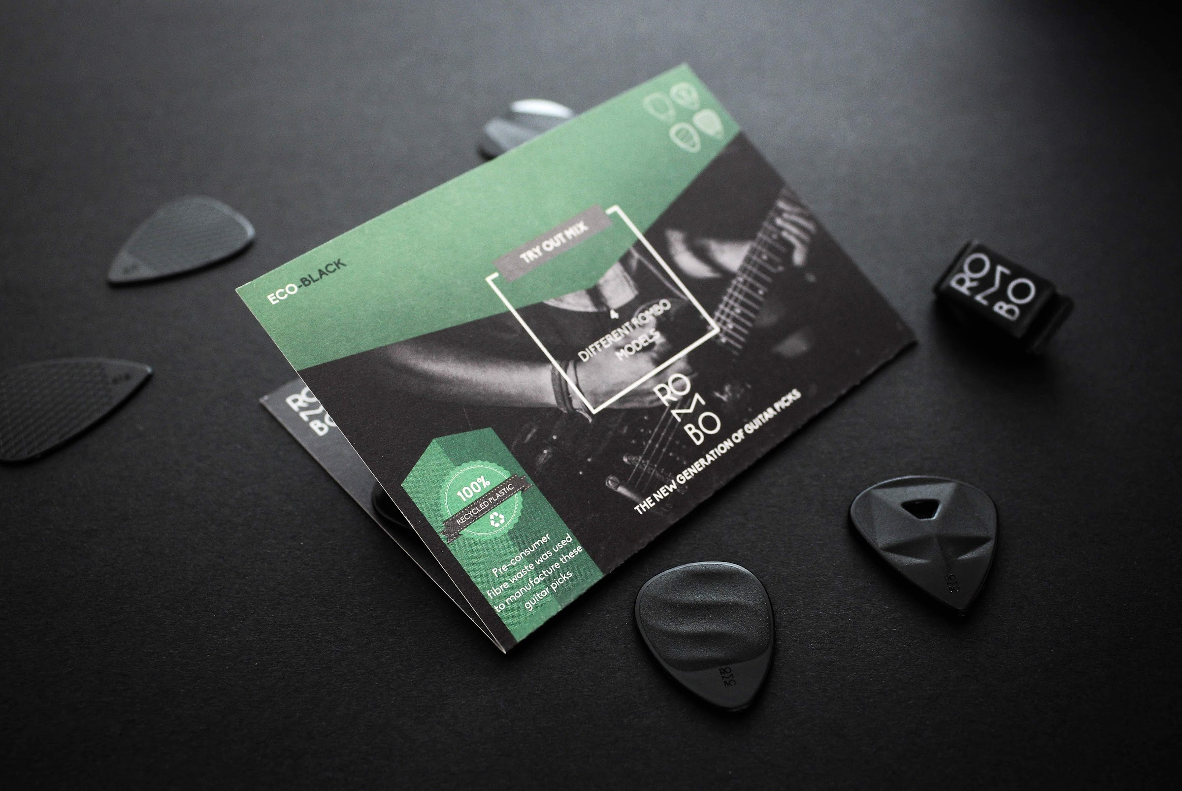 guitar pick eco