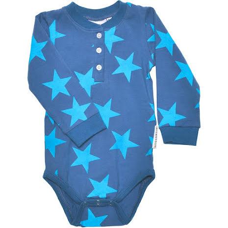 Geggamoja Body LS Grandpa Blue Star