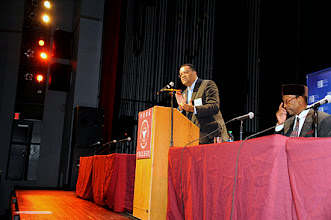 Photo: Elliott Dawes, University Derictor/CUNY BMI on BMI 8th Annual Conference at York College/CUNY.
