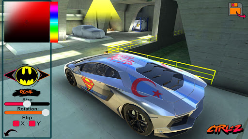 Aventador Drift Simulator 2 1.1 screenshots 5