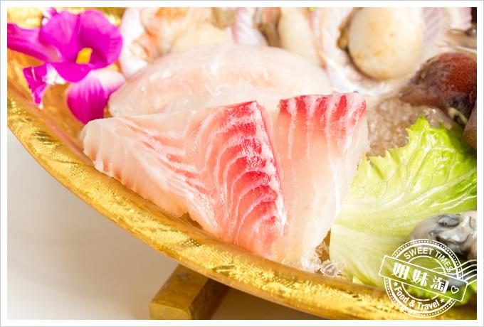 旗山錢源日式涮涮鍋大海陸鍋鯛魚