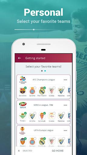 fanera - football fans social sharing app screenshot 3