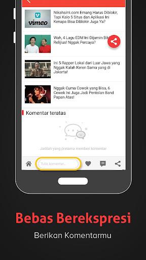 Baca- Berita Terbaru, Informasi, Gosip dan Politik 3.1.5.9 screenshots 6