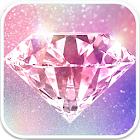 Glitzy - Real Glitter Live Wallpaper icon