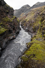 Photo: ... canyon of Emstrie river ...