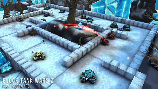 Block Tank Wars 2- screenshot thumbnail