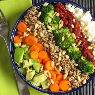 Quick Quinoa Veggie Bowl