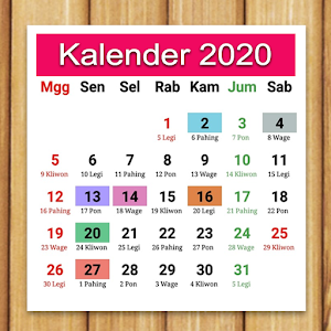 Kalender Indonesia 1.0.20a by AsyncByte Software logo