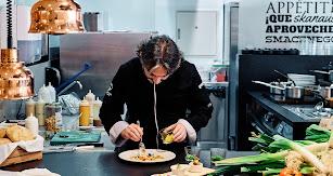 Tony García es uno de los chefs más reconocidos de Andalucía. Wim Jansen