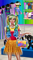 Rainbow Girls Dress Up APK screenshot thumbnail 3