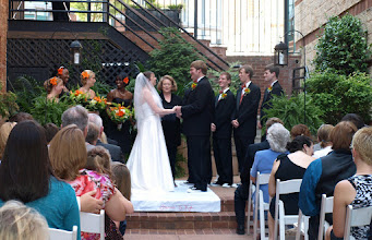 Photo: Larkin's on the River Marriage Greenville,SC - Wedding Officiant, Marriage Minister, Notary, Justice Peace - Brenda Owen - http://www.WeddingWoman.net