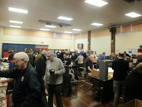 Photo: 001 The village hall in full flow during the morning .