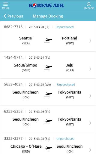 Korean Air screenshot 5