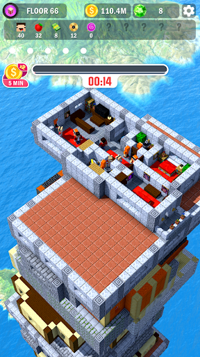 Tower Craft 3D - Idle Block Building Game 1.7.4 screenshots 2