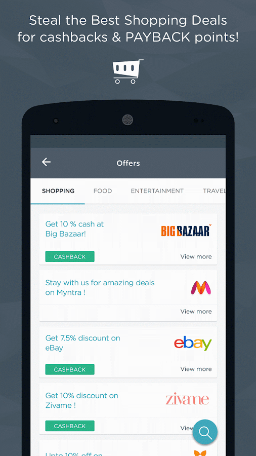 Mobile Recharge,Bill Pay, Shop- screenshot