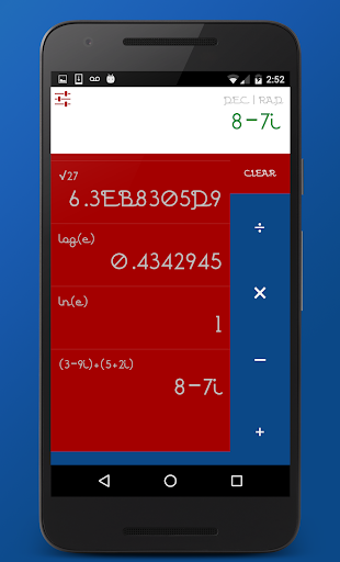 Go to calculator app