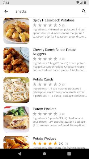 Potato Recipes 5.05 screenshots 2