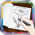 How To Draw Flowers: Drawing Step by Step icon