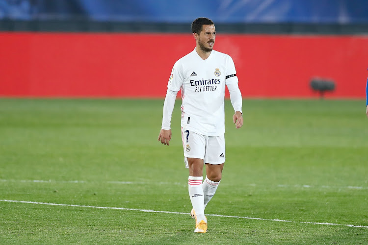 Eden Hazard à nouveau absent de l'entraînement du Real Madrid