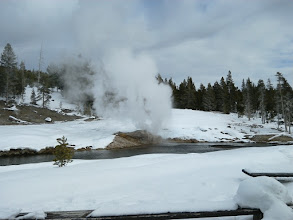 Photo: Riverside Geyser