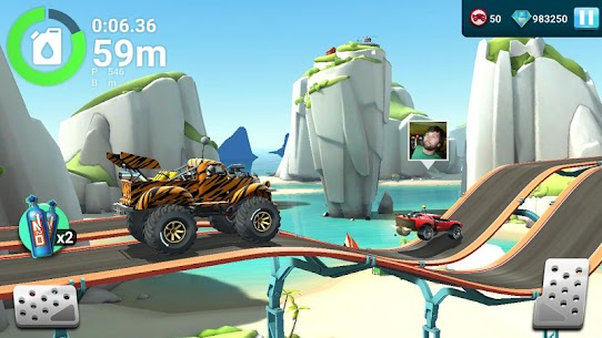 MMX Hill Dash 2 – Offroad Truck, Car & Bike Racing (MOD, Unlimited Gas/ Free Purchase) v9.00.12012 2