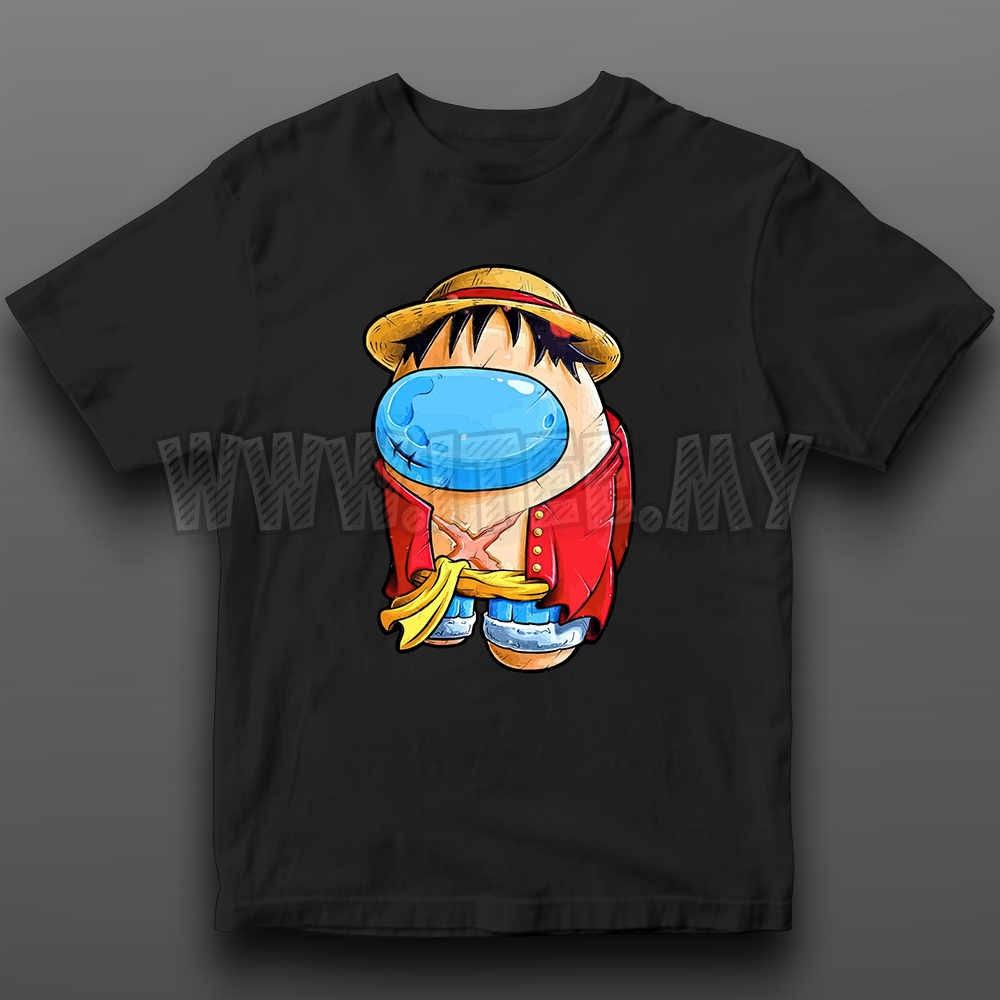 Monkey D. Luffy Straw Hat  One Piece Among Us Impostor 22
