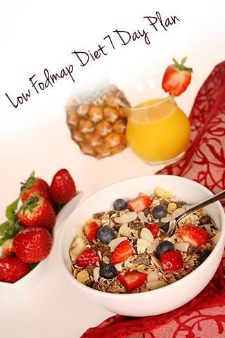 Low Fodmap Diet 7 Day Plan