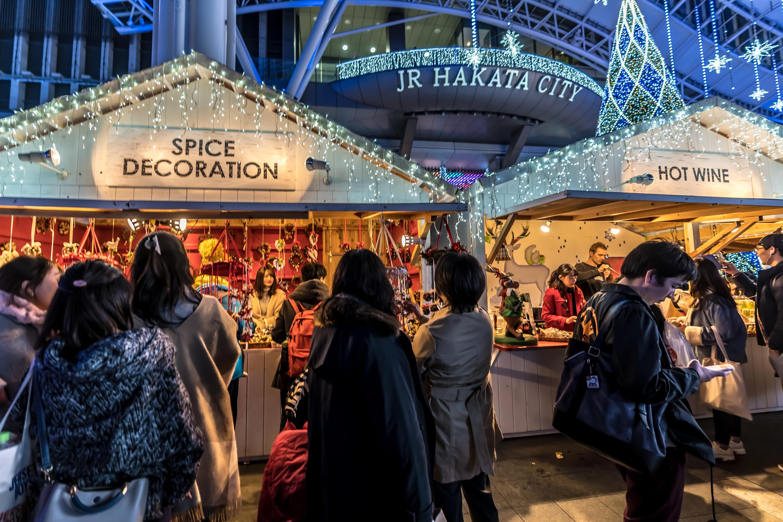 Hikari-no-machi Hakata Christmas market2
