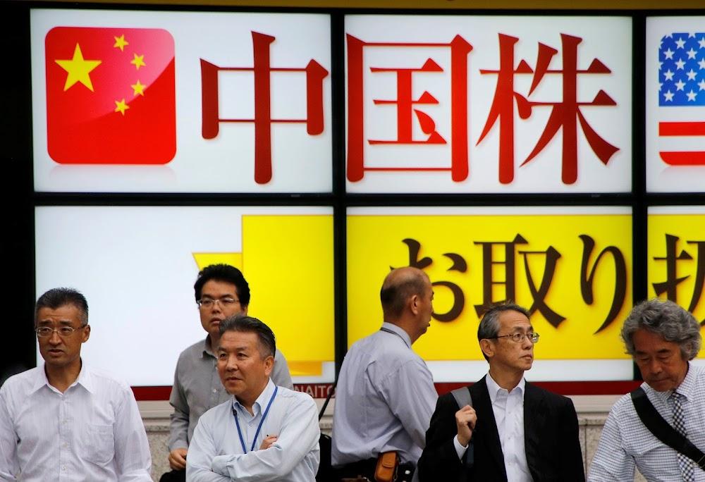 China se aanpassing verhoog die aandele in Asië