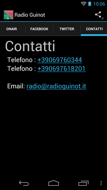 Radio Guinot / Mary Cohr- screenshot