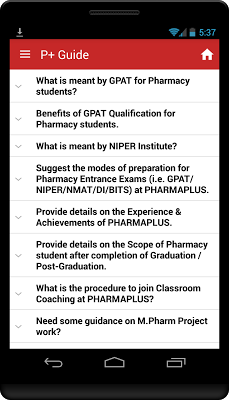 PHARMACY TEST (GPAT-NIPER MCQ) - screenshot