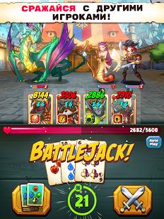 Battlejack: Блек-джек RPG Screenshot