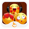 TouchPal Yellow Face Sticker