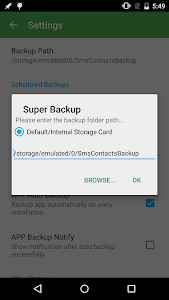 Super Backup : SMS & Contacts v2.0.08.04