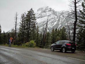 Photo: Road to Two-medicine lake
