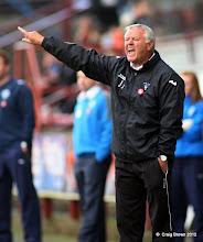 Photo: Dunfermline Athletic v Morton Irn Bru First Division East End Park 20 October 2012Jim Jefferies shouts(c) Craig Brown | StockPix.eu