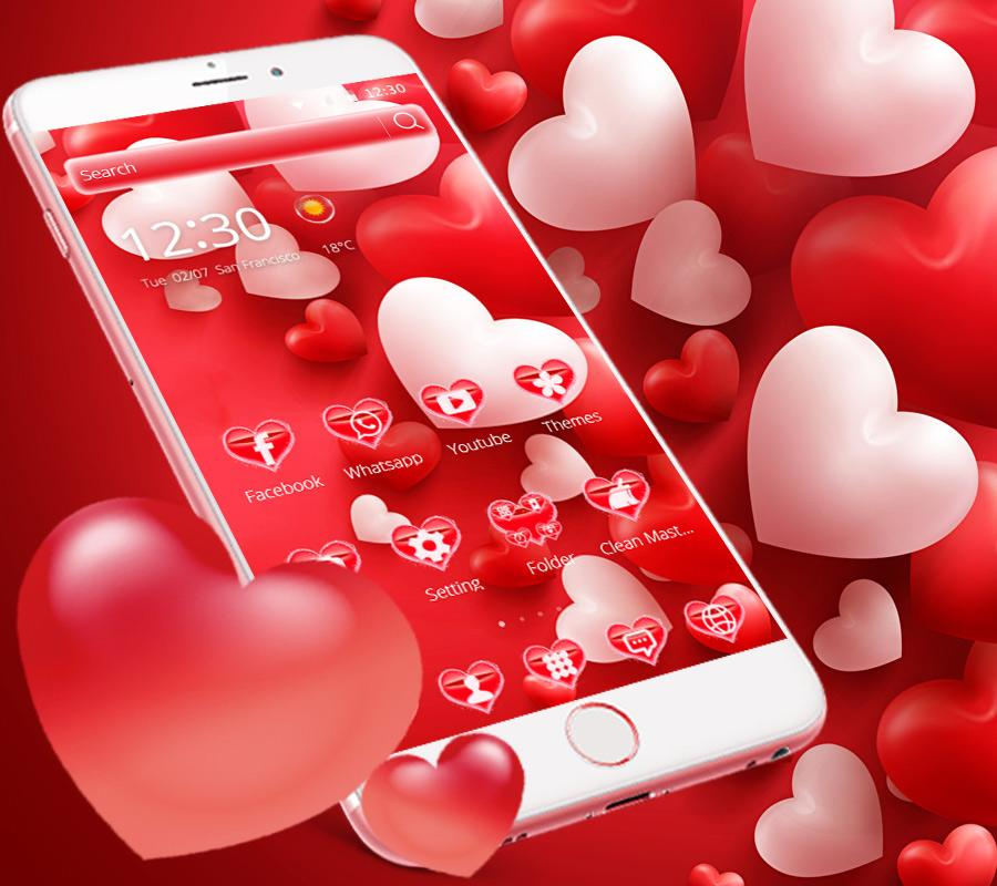 Valentine\'s Day Love Theme - Android Apps on Google Play