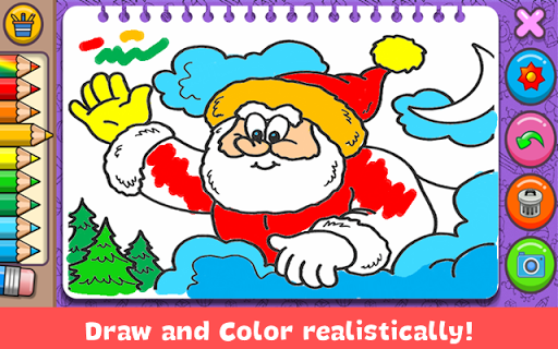 Christmas Coloring Book screenshots 17