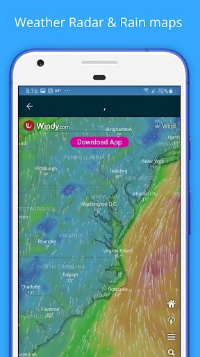 Weather Forecast - Weather Radar & Weather Widget screenshot 6