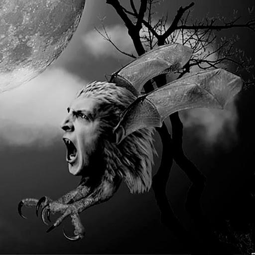 El chonchon volando en la noche