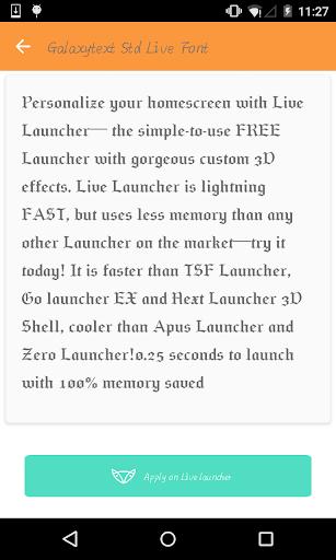 Gothic font 1 - Live Launcher
